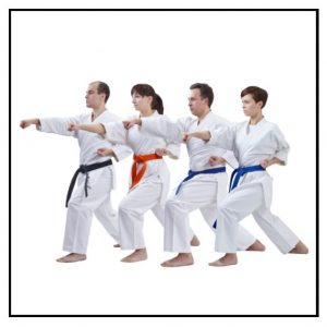 Adult Karate Classes in Clacton, Great Holland, Dovercourt & Wix